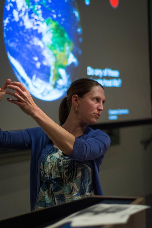 Professor Heather Knutson searches for planets outside of our solar system.