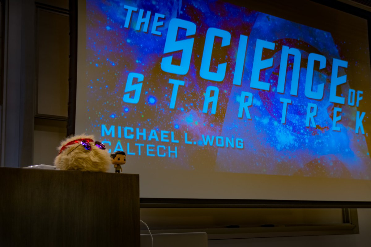 A presentation by Mike Wong on the science of Star Trek.