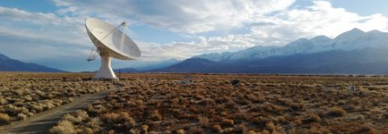 OVRO 40-meter radio telescope