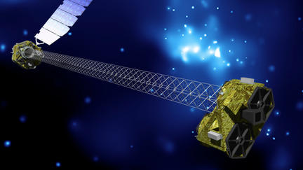 NuSTAR telescope illustration