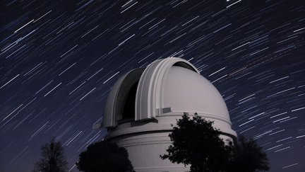 Palomar Observatory 200-inch telescope dome