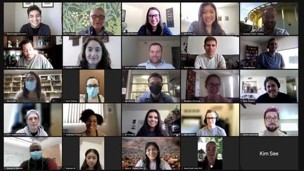 Zoom Screenshot of DEI Coordinators
