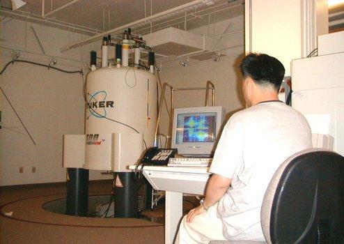 Bruker Avance 500 MHz spectrometer