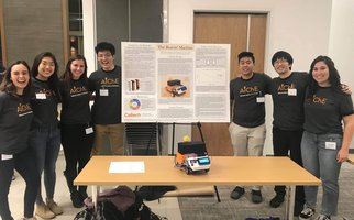 AIChE Members with research presentation
