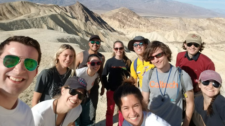2019 Ge151 Planetary Surfaces, annual Death Valley field trip