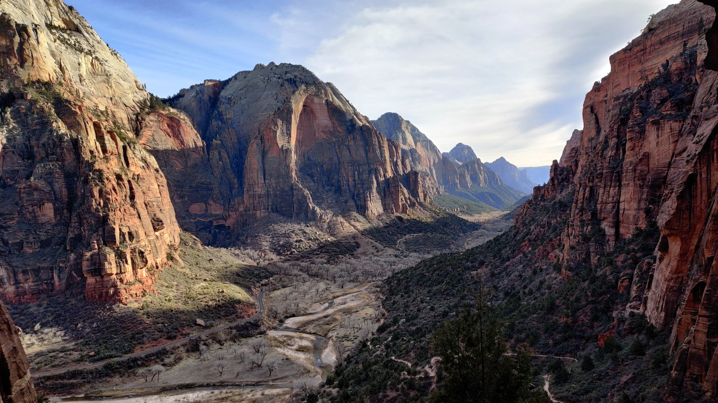 A glimpse into Zion National Park