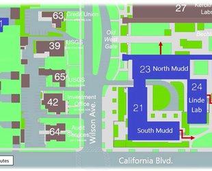 GPS Evacuation Map