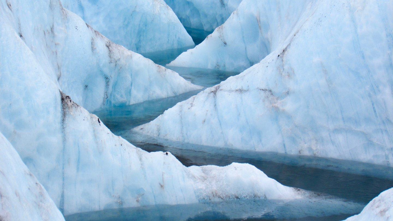 Meltwater Meander, Alaska Range, AK