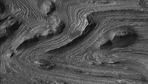 Candor Chasma, Mars.