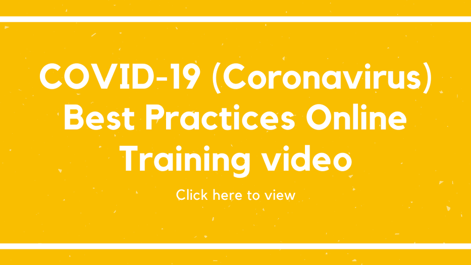 COVID-19 best practices online training video