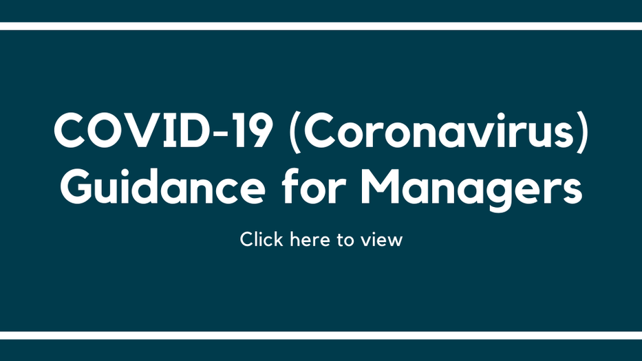 COVID-19 updates for managers