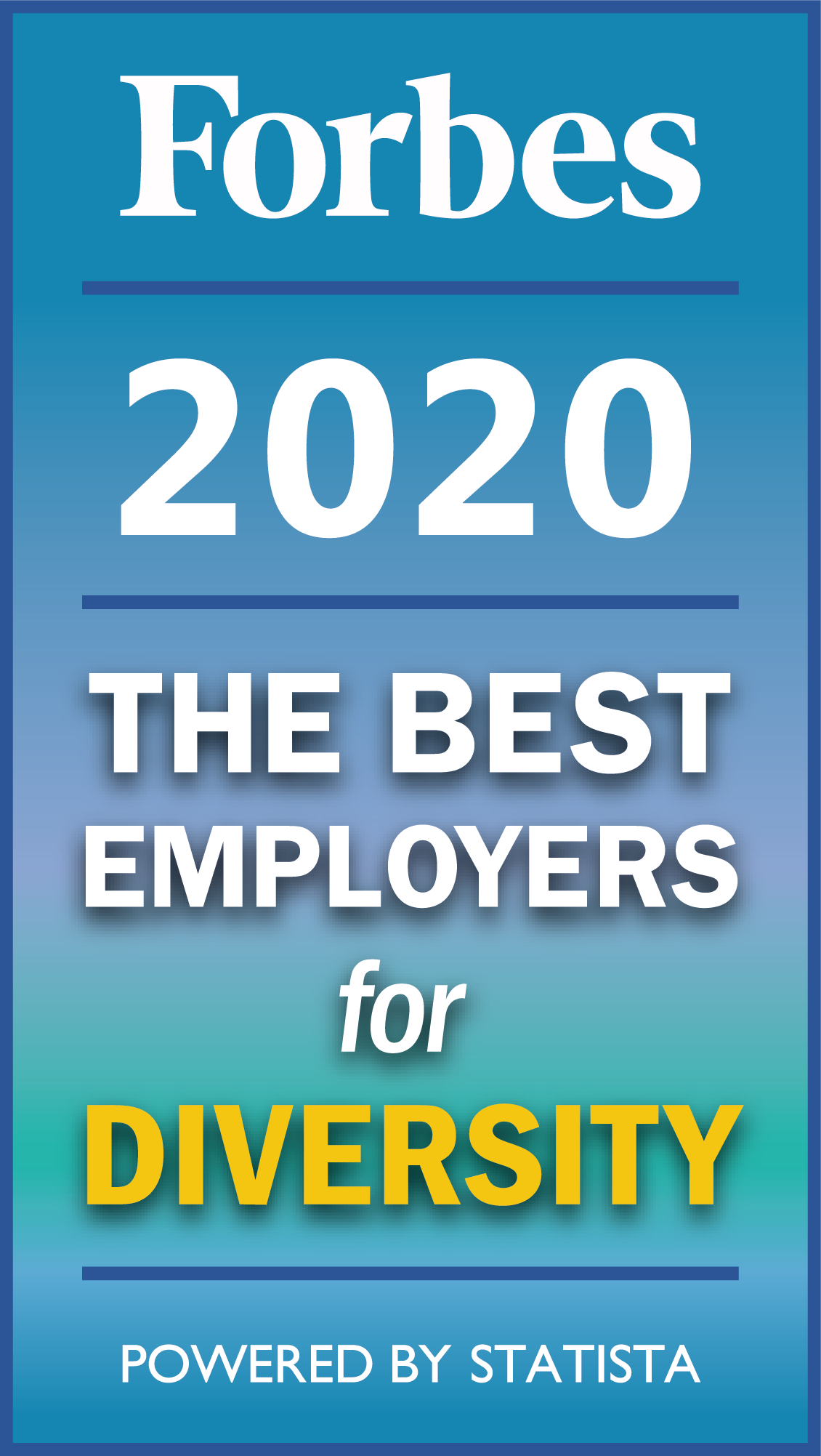 Caltech received an award from Forbes as one of the best employers for diversity in the year 2020