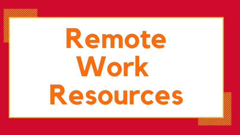 Remote work resources hero
