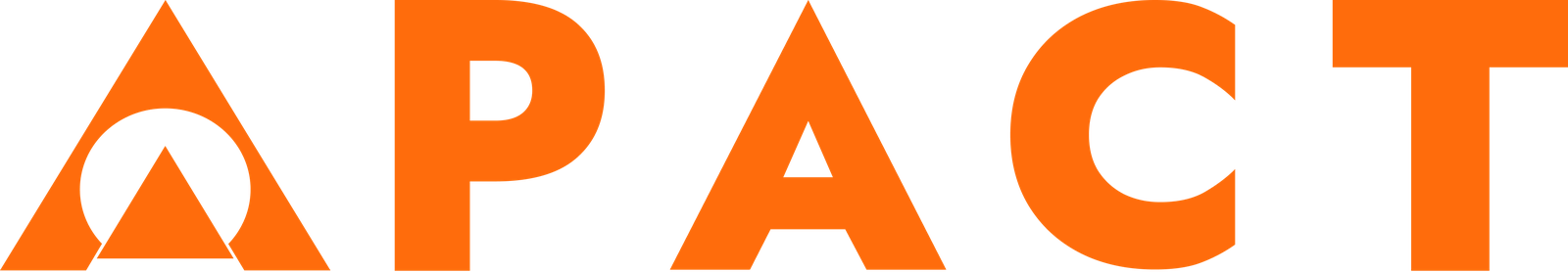 Orange APACT ERG logo