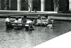 Jenijoy La Belle in Millikan Pool