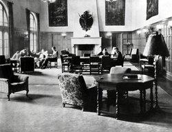 Dabney Lounge, ca. 1931