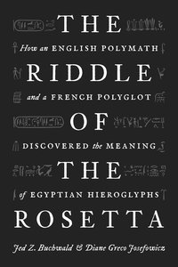 Riddle of the Rosetta book cover