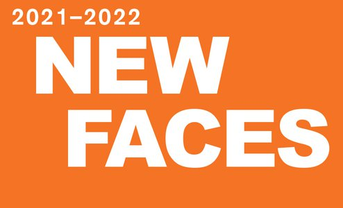 New Faces homepage slide