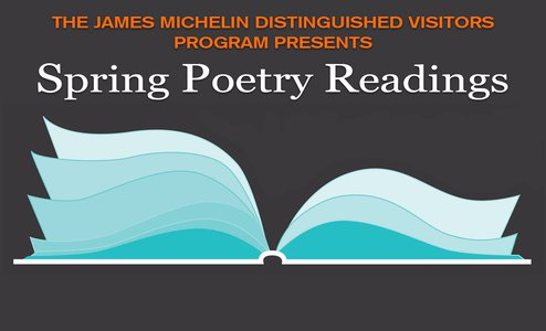 Spring Poetry Readings slide