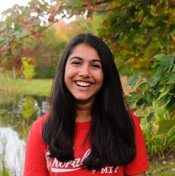 Radhika Bhatt, physics graduate student