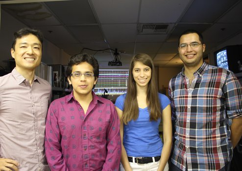 2015 Blanco Fellows with LIGO research mentors.