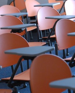 Photo of Empty Desks