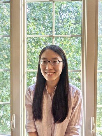 Yufeng Du, physics graduate student