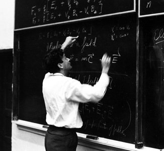 Richard Feynman Teaching