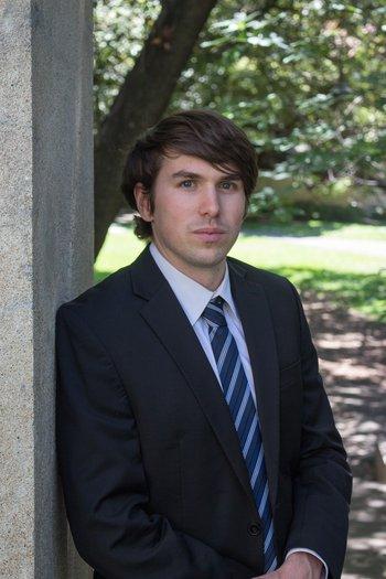 Logan Foote, physics graduate student