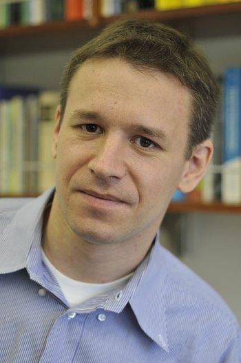 Sergei Gukov indoors