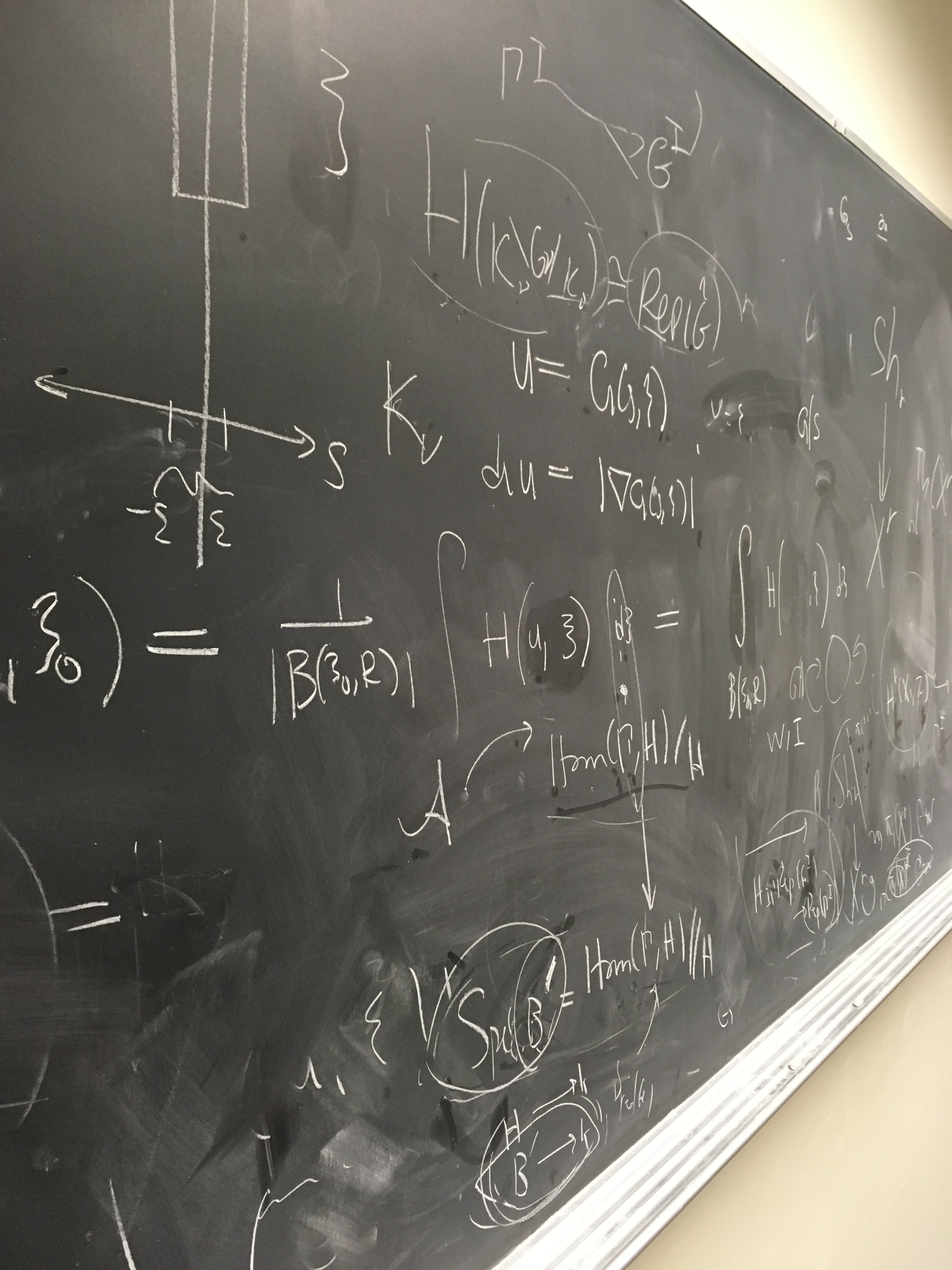 Math on a Chalkboard