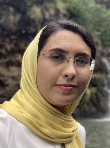Marziye Jafariyazani portrait