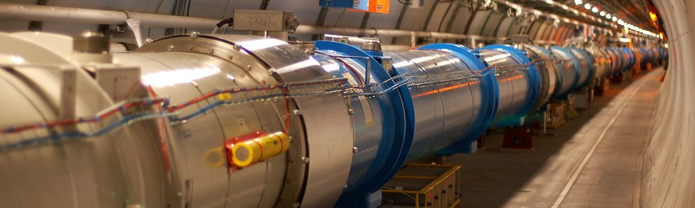 Photo of the Large Hadron Collider at CERN