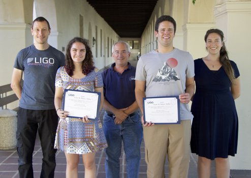 2016 Blanco Fellows with LIGO scientists