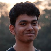 Physics graduate student, Nandagopal Manoj