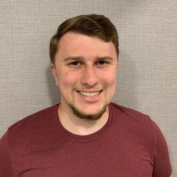 Kyle Nelli, physics graduate student