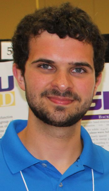 Liam O'Brien, physics graduate student