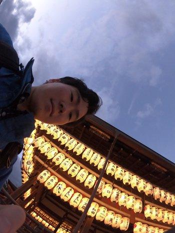 Akiyoshi Park, physics graduate student