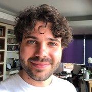 Samuel Patrone, physics graduate student