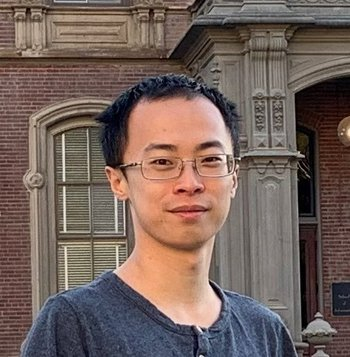 Nicholas Rui, physics graduate student