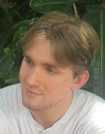 Peter Scherbak, astronomy graduate student