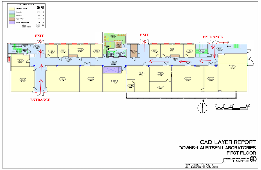 maps of DL first floor