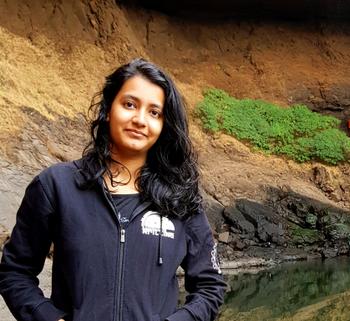 Astronomy graduate student, Yashvi Sharma