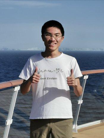 Dongze Sun, physics graduate student
