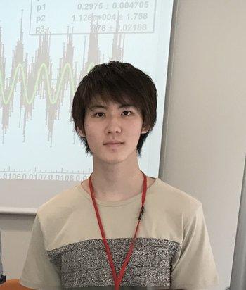 Yuiki Takahashi, physics graduate student
