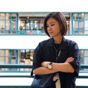 physics graduate student, Liting Xiao