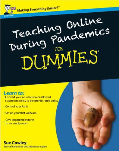 Teaching Online during pandemics for dummies book