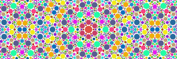 multicolored circles--fractal