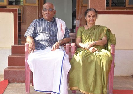 Professor and Mrs. Shastry Photo