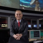 Charles Elachi at Mission Control